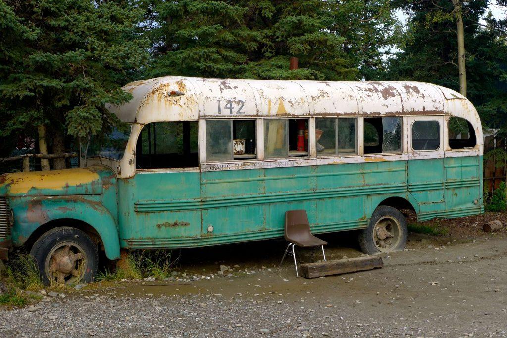 L'autobus di Into the Wild