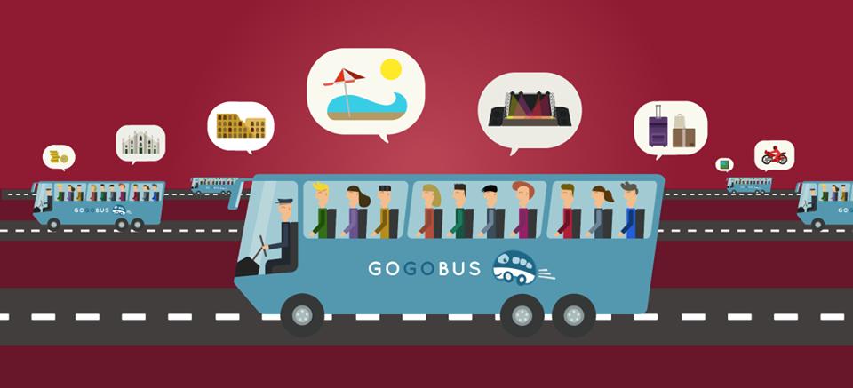 GoGoBus, l'autobus low cost per eventi e vacanze
