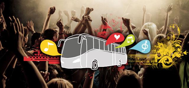 Autobus per concerti: con Eventi In Bus raggiungi i tuoi artisti preferiti
