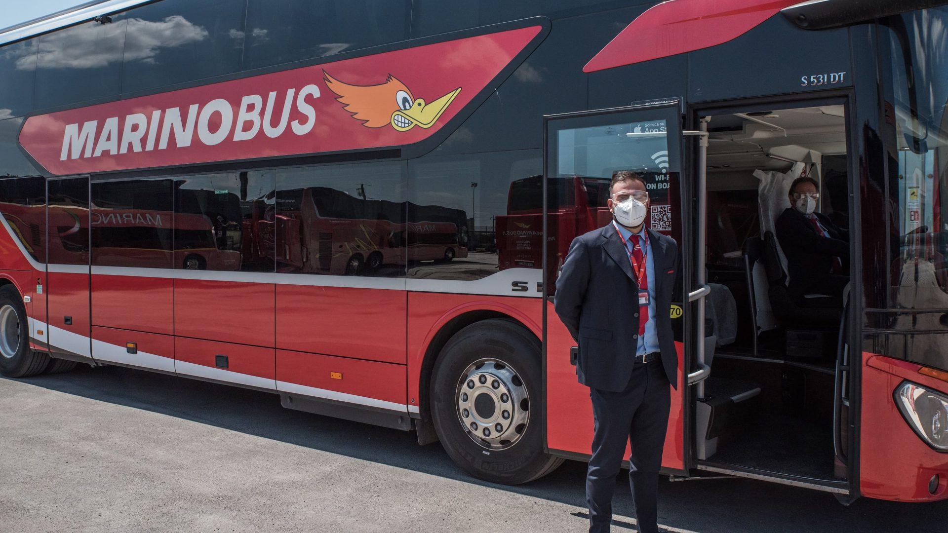MarinoBus accoglie con favore l'introduzione del Green Pass